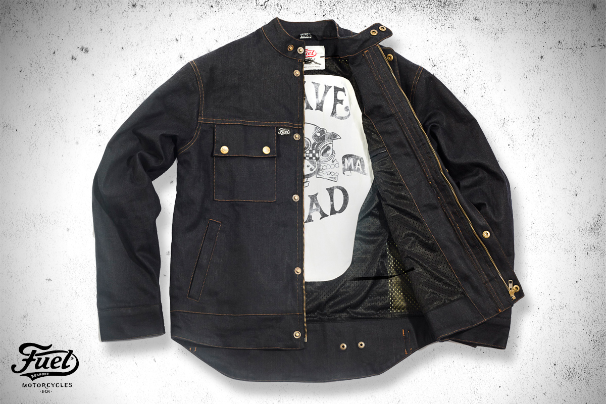 Fuel Motorcycles Downtown jacket