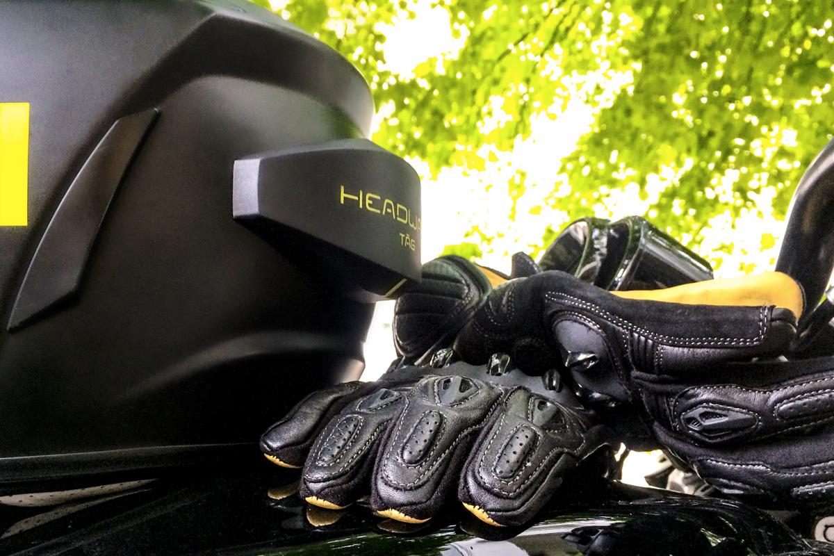 Headwave motorcycle helmet speaker