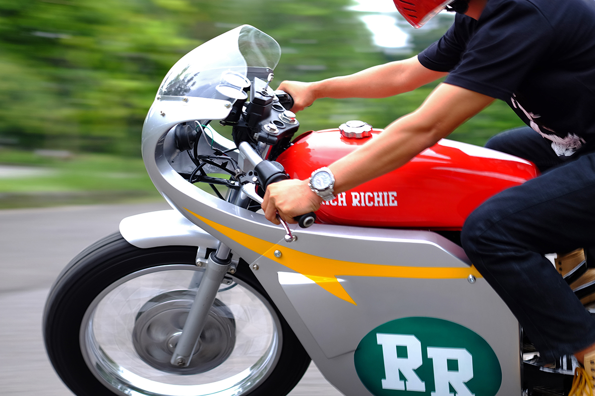 Road Rebel 166 Rich Richie Honda Tiger Return Of The Cafe Racers