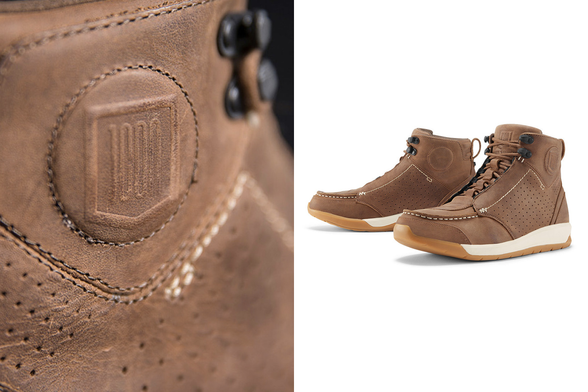 Icon 1000 Truant motorcycle boots