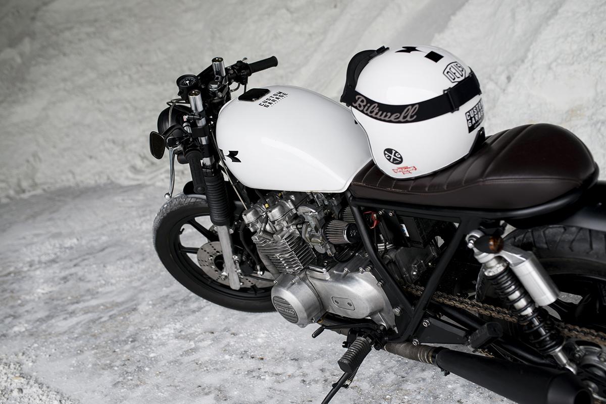 Kawasaki KZ550 Cafe Racer