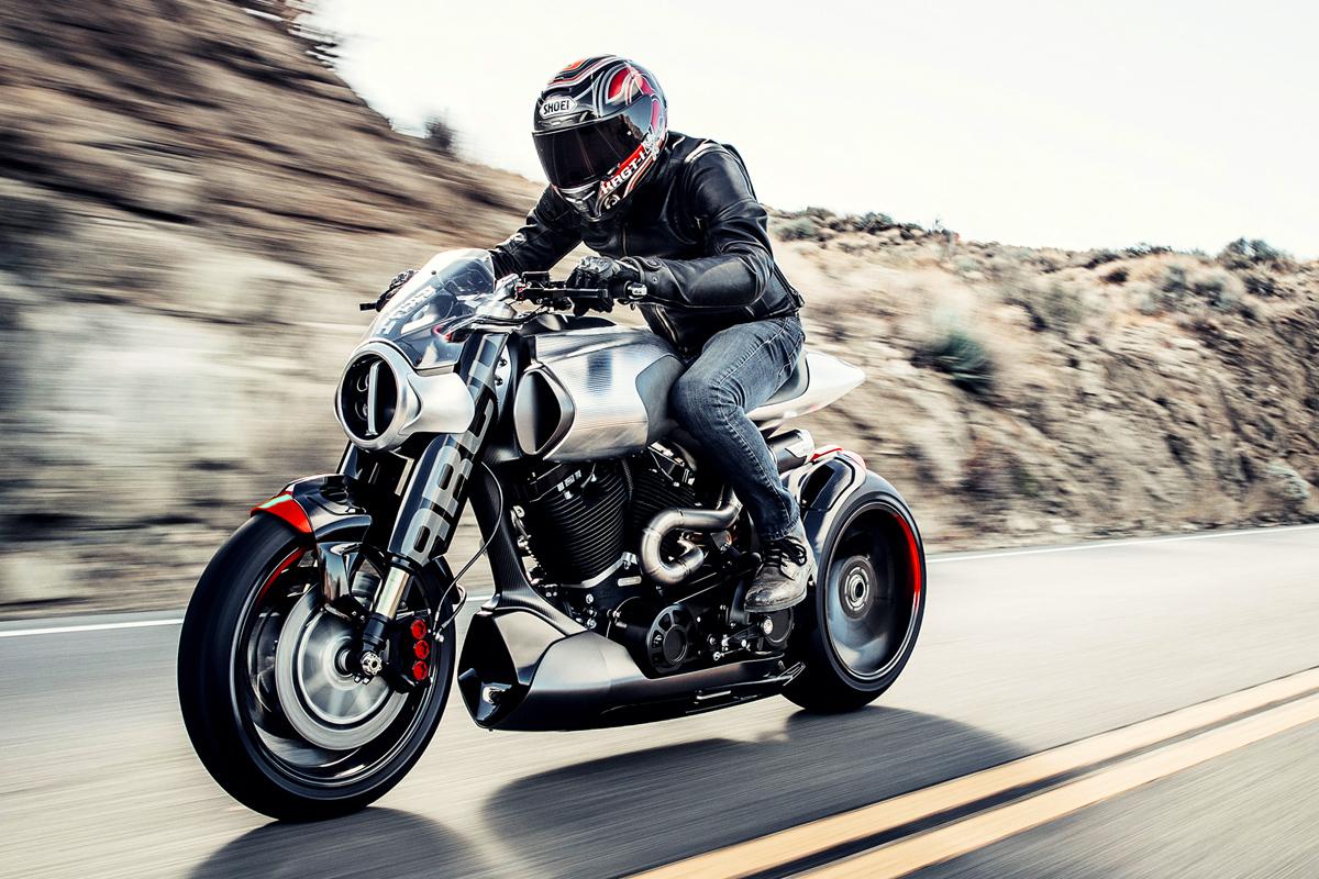 Keanu Reeves Arch Method motorcycle