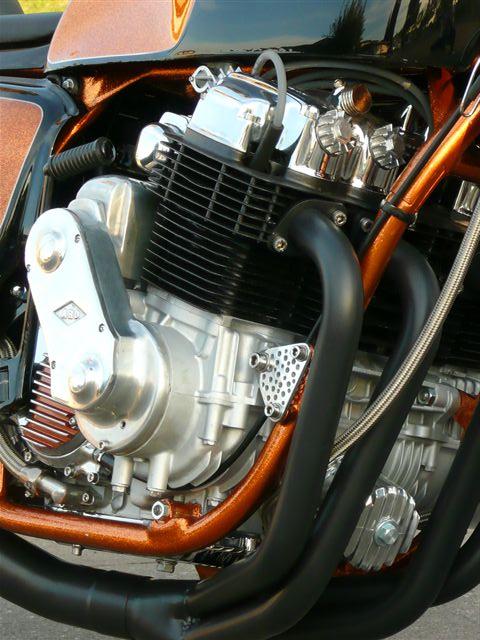 Supercharged Honda CB750