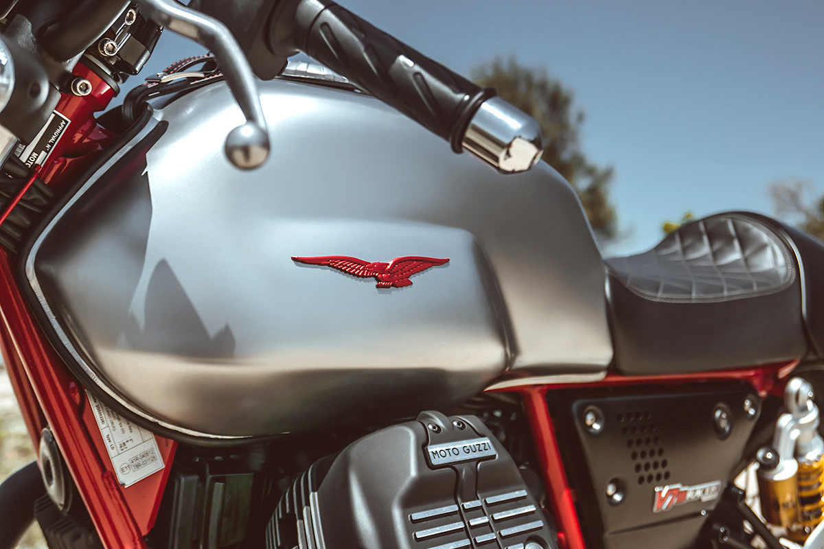 Moto Guzzi V7 III ride review