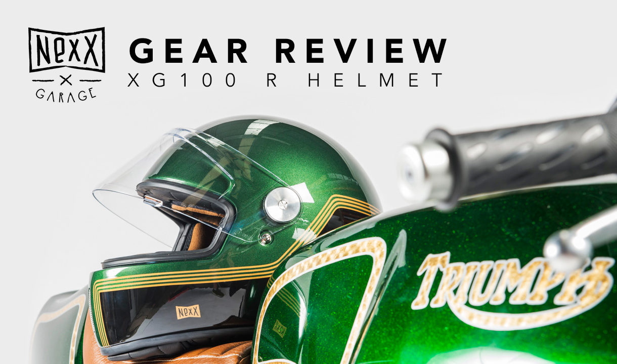 Nexx XG100R motorcycle helmet review