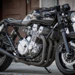 Honda CB750 cafe racer rollin bikes