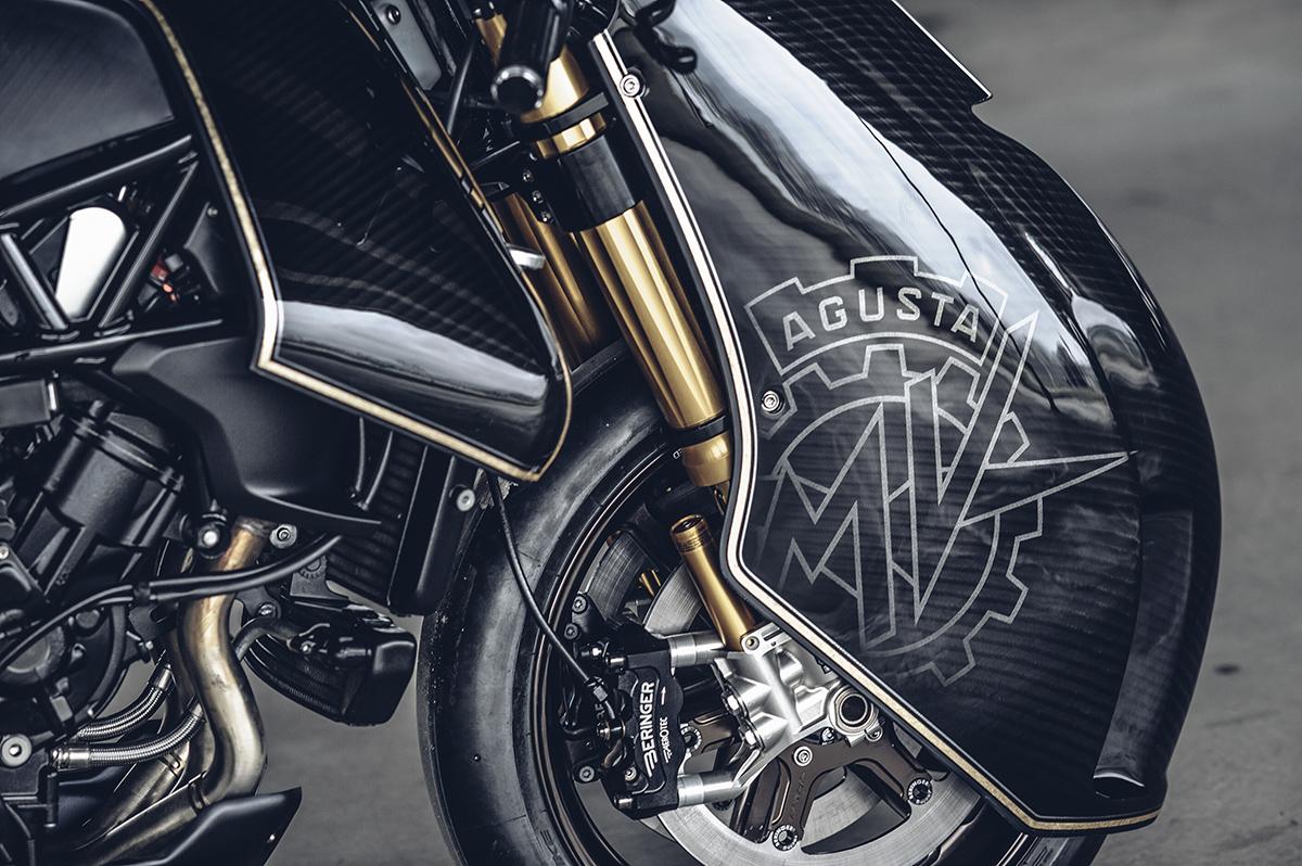 Rough Crafts MV Agusta brutale custom