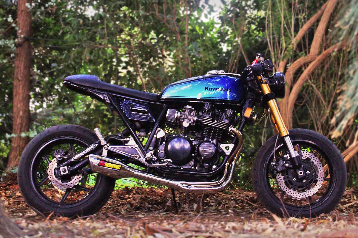 Kawasaki Z2 cafe racer