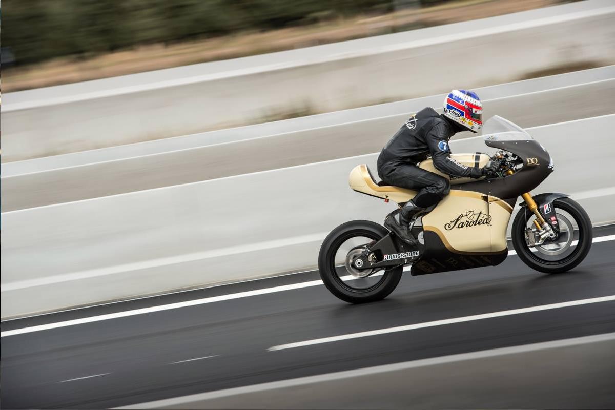Sarolea electric motorcycle