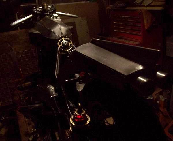 Triumph Steam Punk motorcycle
