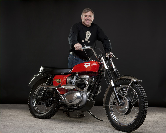 the One Motorcycle Show BSA Tracker