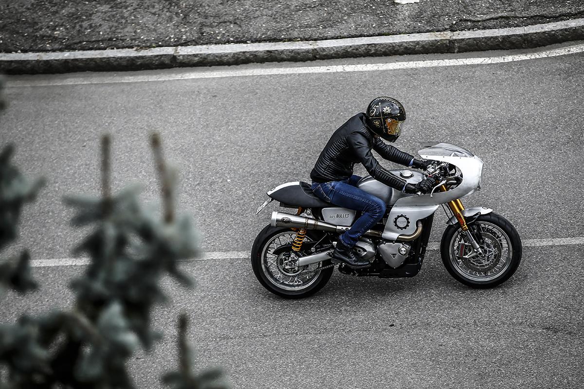 Triumph Thruxton R custom