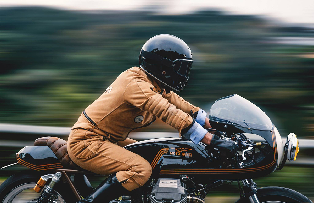 Ton Up Moto Guzzi LeMans