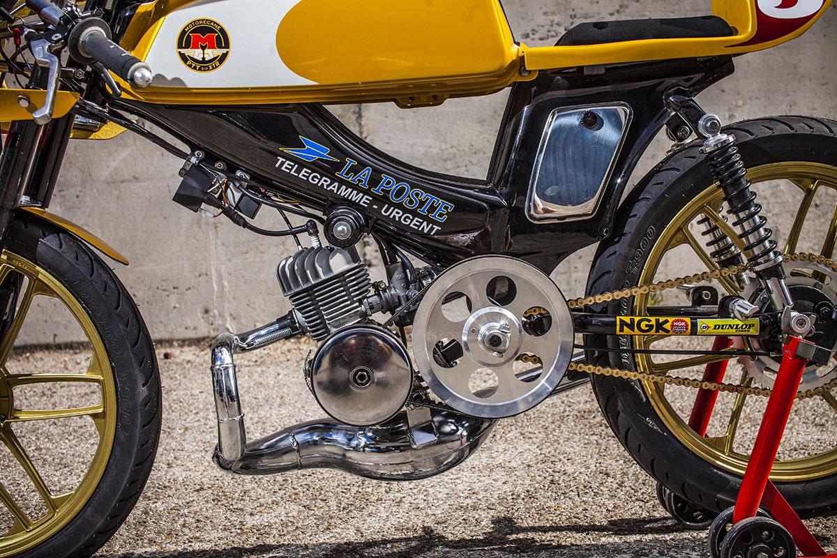 XTR Pepo custom moped