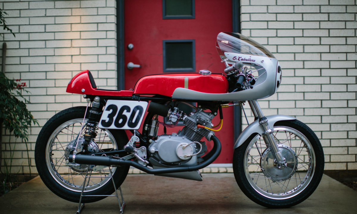 Steve Caballero Honda Cafe Racer