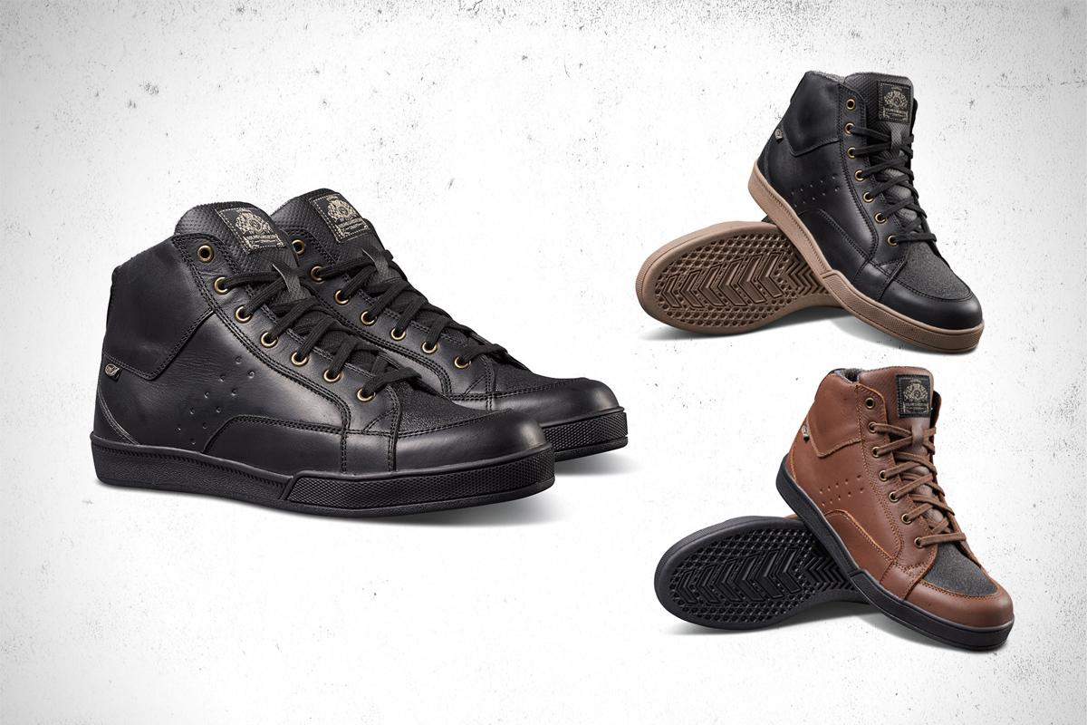 Roland Sands Designs Fresno motorcycle shoe