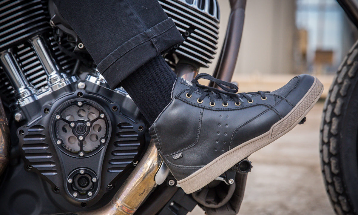 Roland Sands Designs Fresno motorcycle shoe