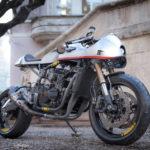 Kawasaki GPX600R cafe racer