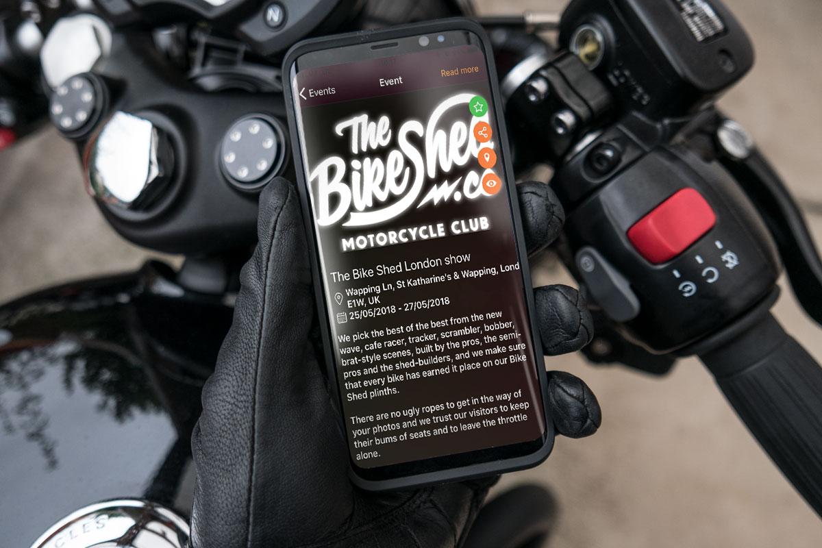 Ideas Motors mobile app