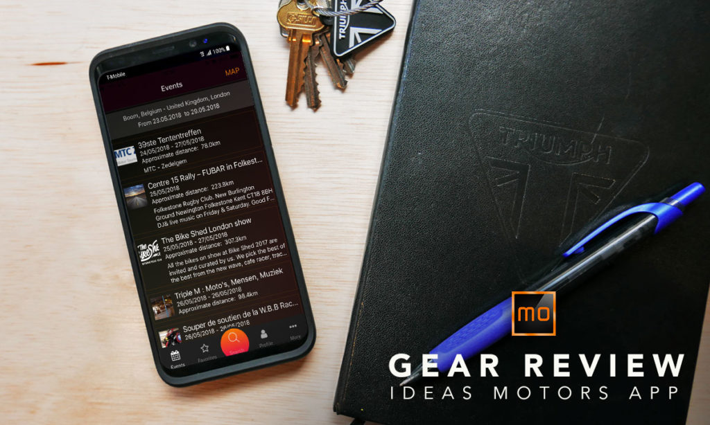 Return of the Cafe Racers - Gear Review – Ideas Motors mobile app