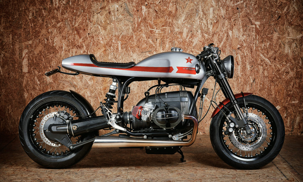 Return of the Cafe Racers - Lucky for One – BMW R80 Cafe Racer