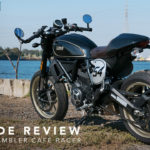 Ducati Scrambler Cafe Racer ride review