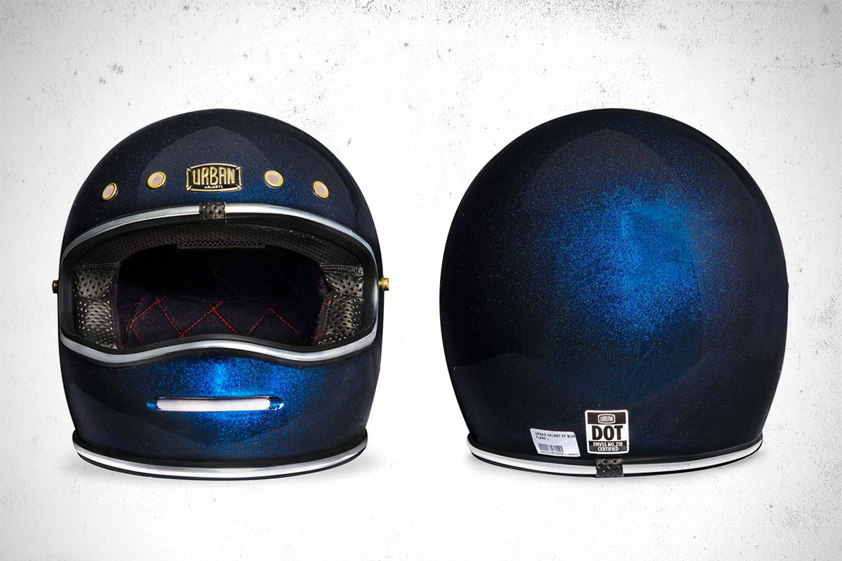 Urban Big Bore Helmet Blue Flake