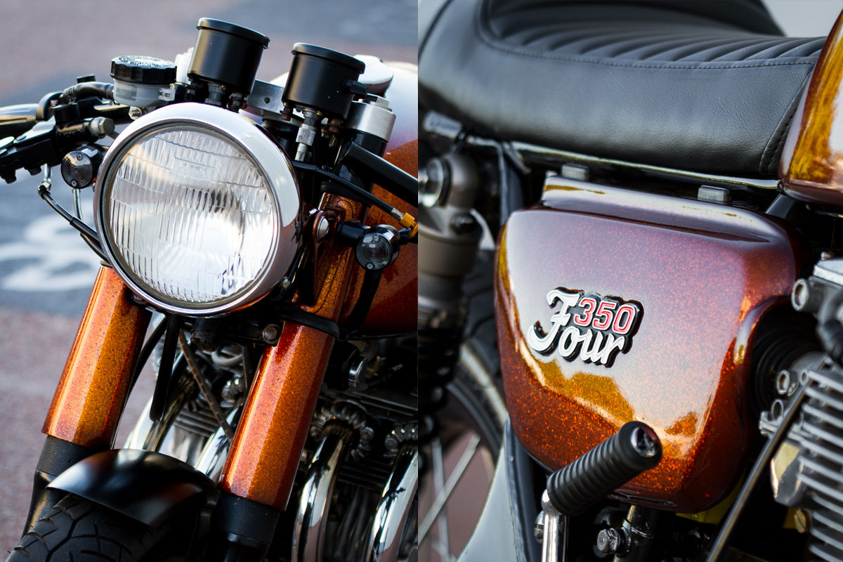 Honda CB350F Cafe Racer Perth
