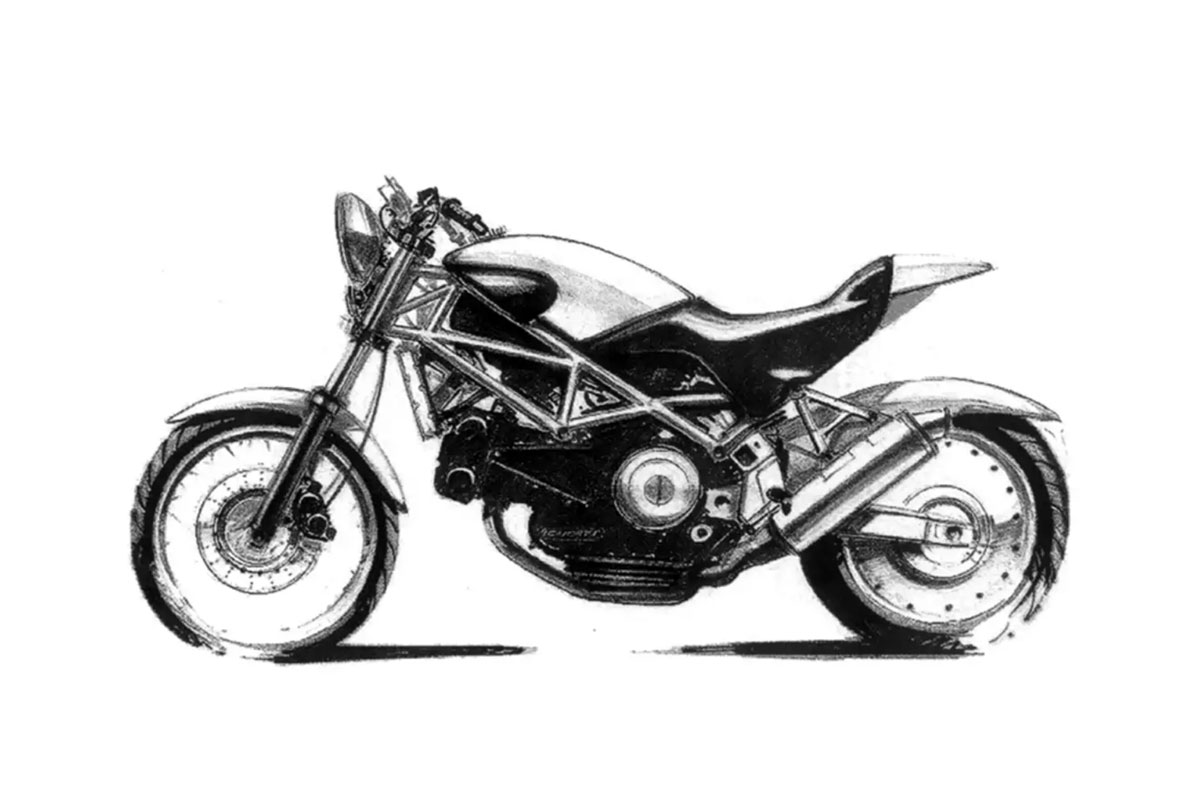 Ducati Monster 25th anniversary story