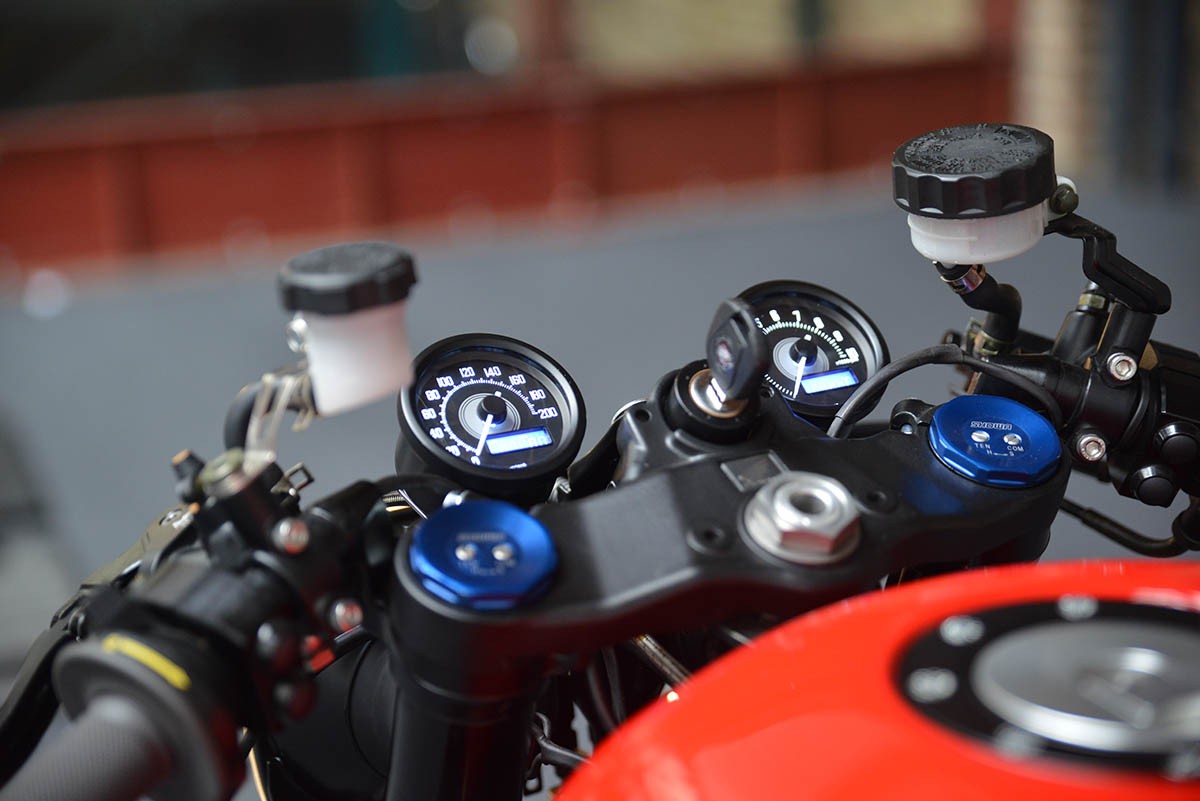X-Axis Honda CBX750 Cafe Racer
