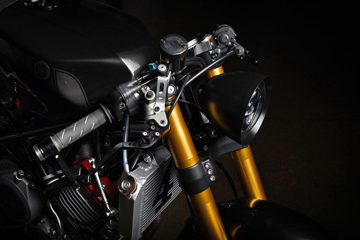 Yamaha TRX850 Café Racer