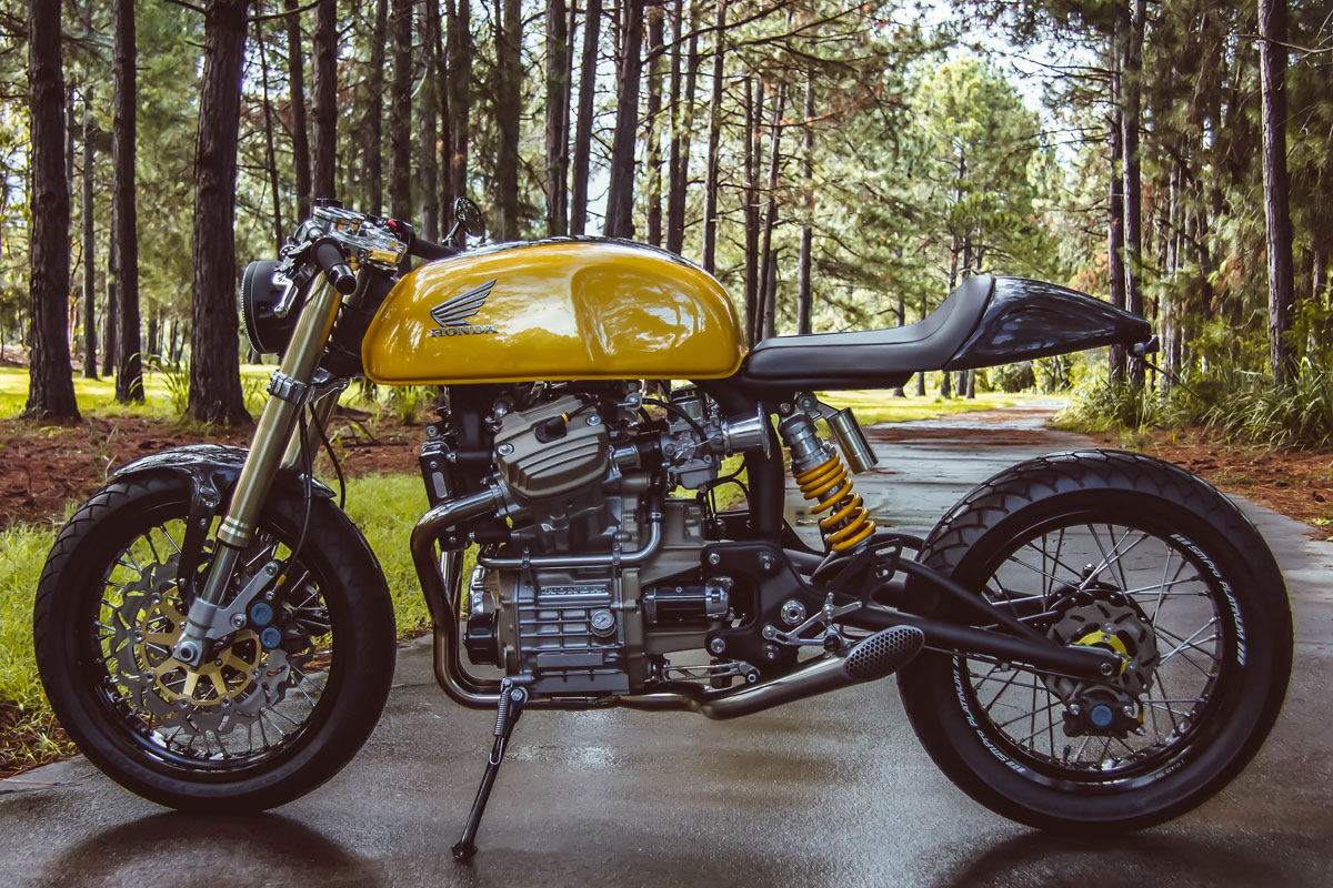 Honda CX500 cafe racer by Garth