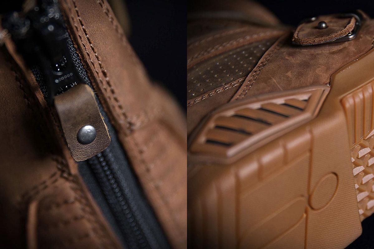 Icon Retrograde motorcycle boots
