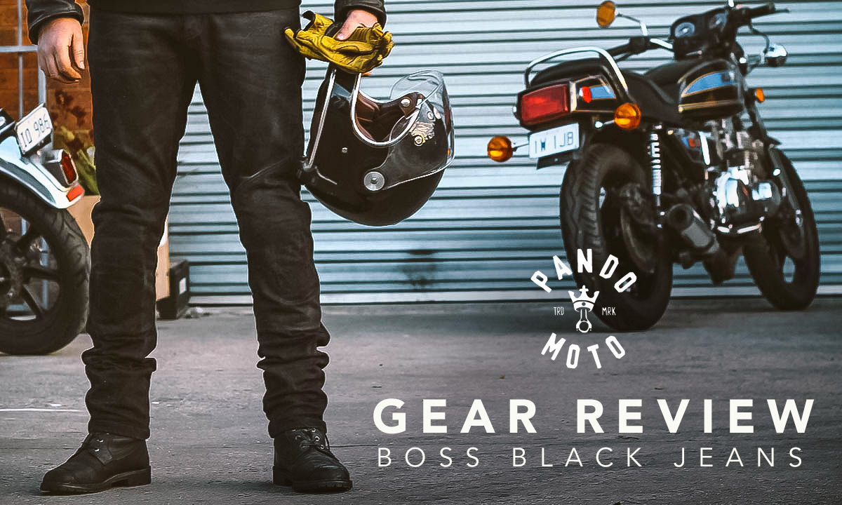 Pando Moto Boss Black Jeans Review