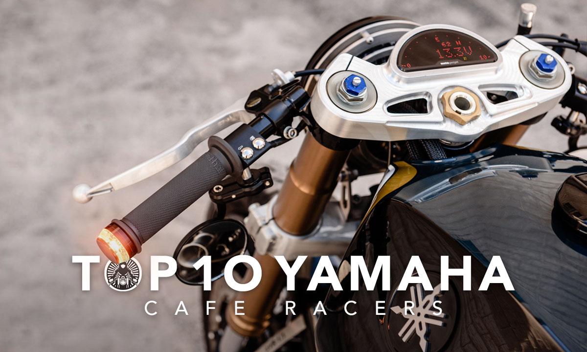 Top 10 Yamaha Cafe Racers