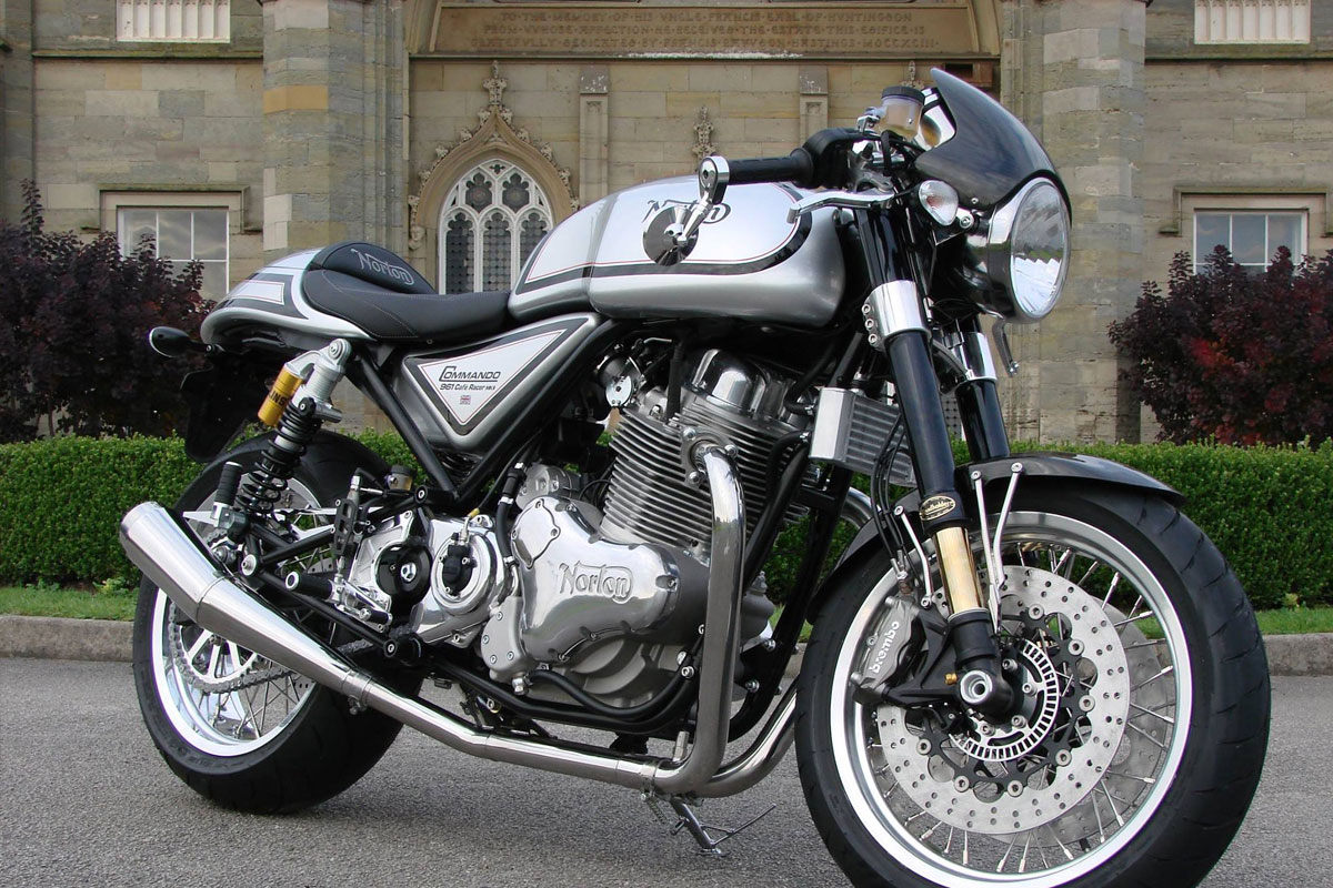 cafe racers for sale Norton Commando 961 cafe racer
