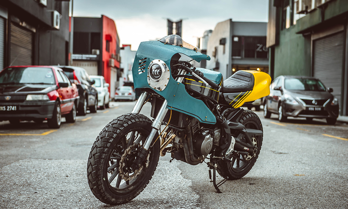 beautiful machines benelli tnt300