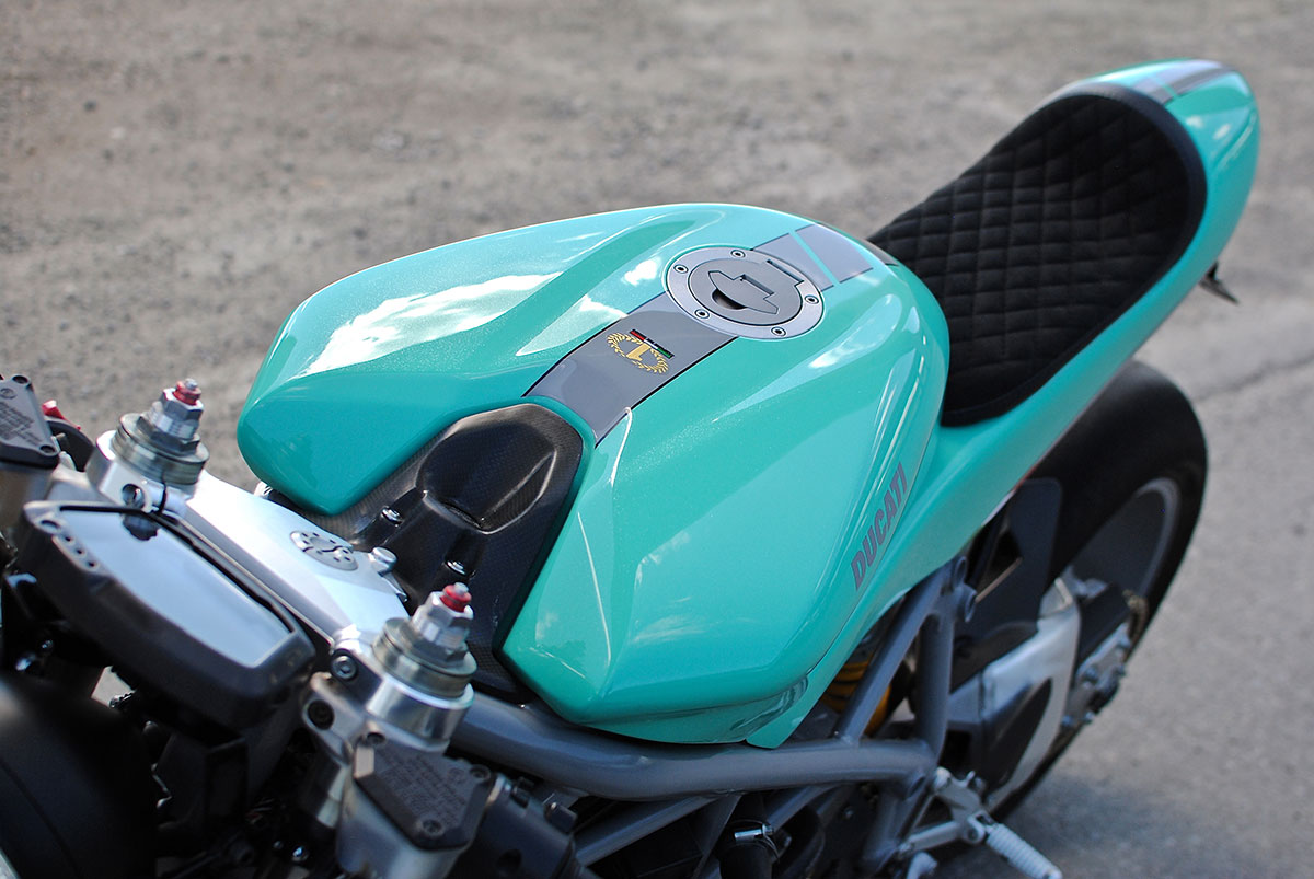 Mike Ducati 848 cafe racer