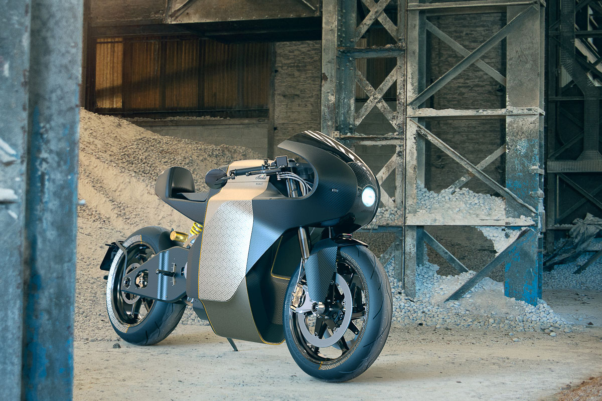 Sarolea electric motorcycle manx7