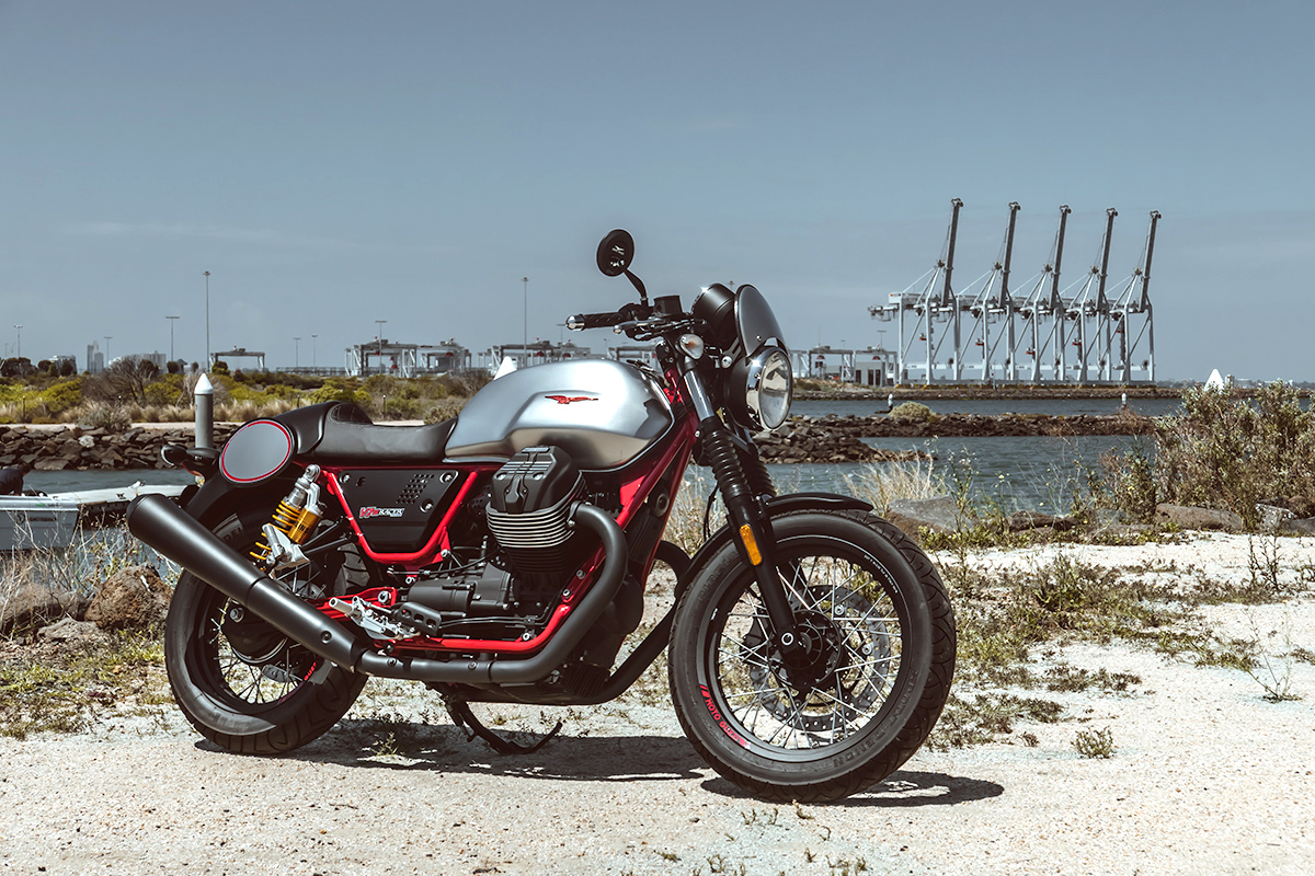 cafe racers for sale Moto Guzzi V7 III Racer