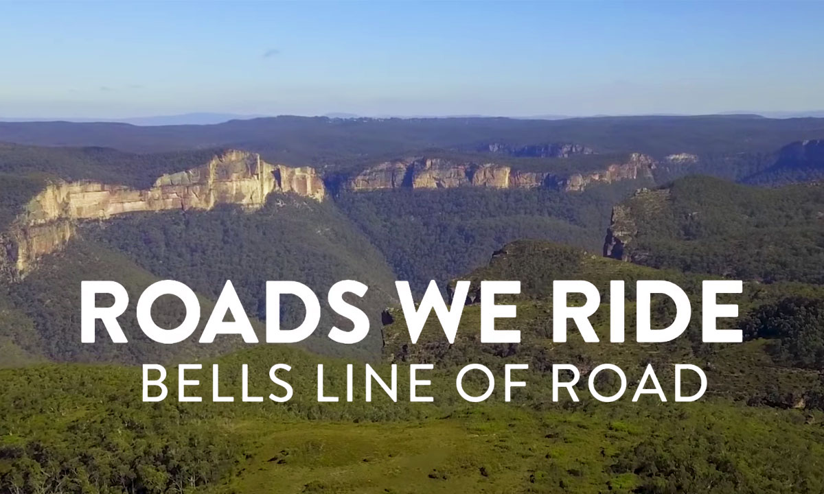 Roads We Ride Bells Line of Road
