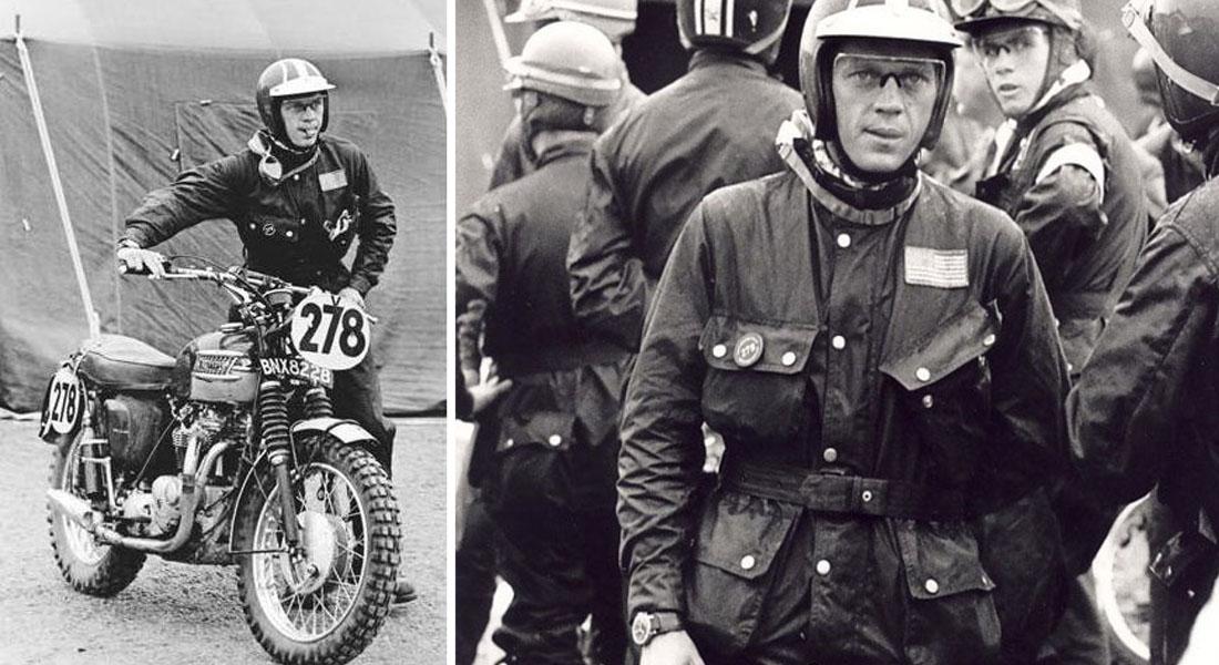 Steve McQueen motorcycle jacket