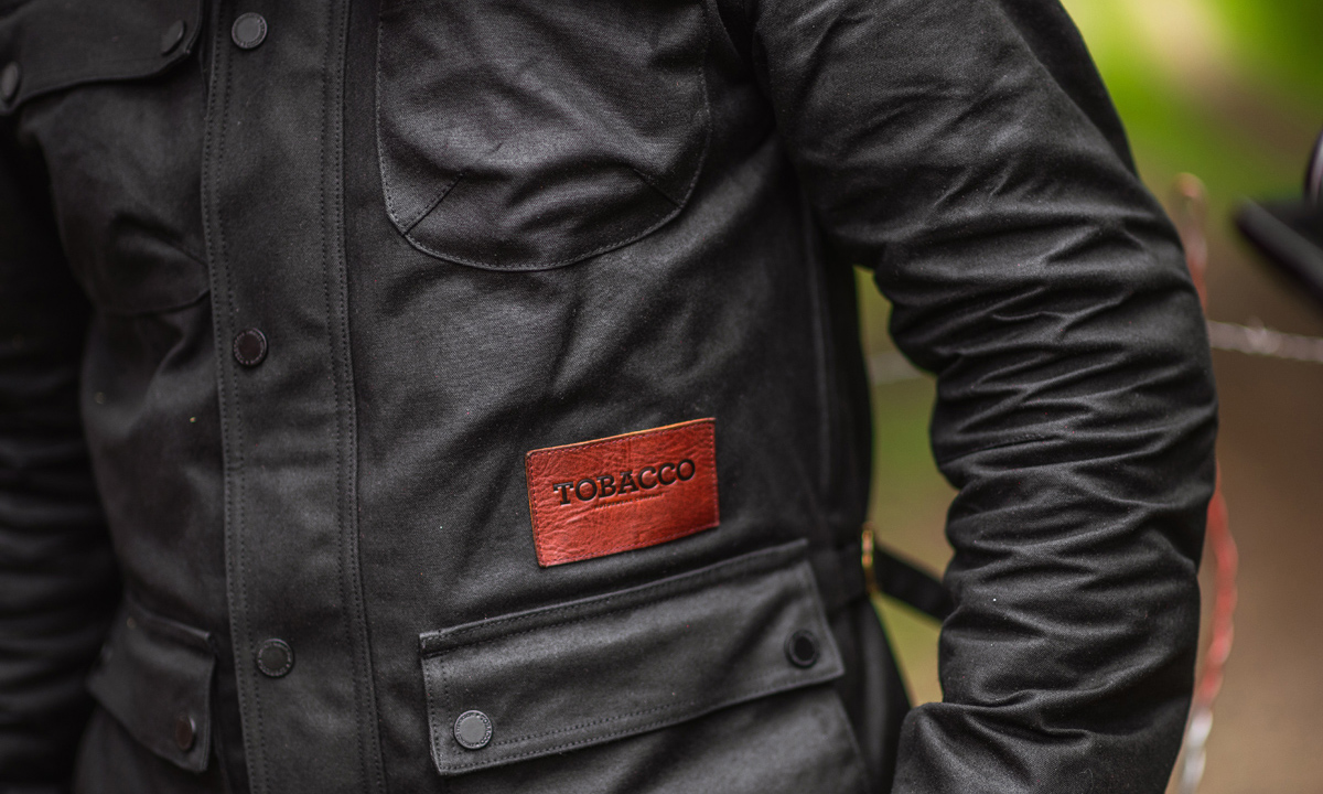 tobacco mccoy motorcycle jacket