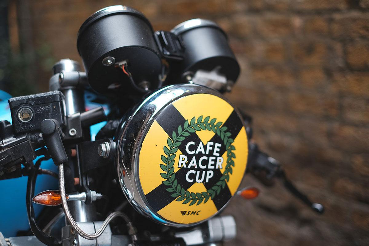 Triumph Trophy 900 cafe racer