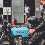 Triumph Trophy 900 cafe racer