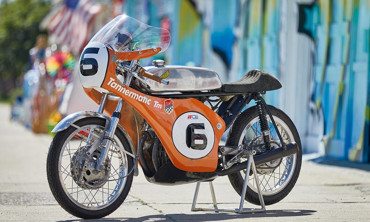Honda CB175 AHRMA racebike