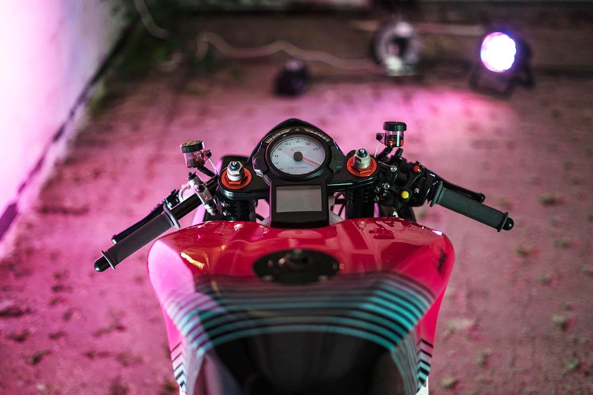 Helmade Ducati 999S Noir