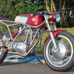 Custom Ducati 350 narrow case
