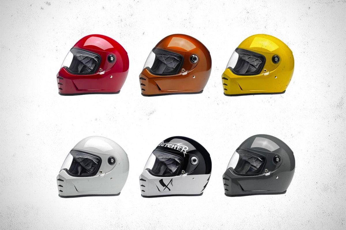Biltwell Lanesplitter helmet