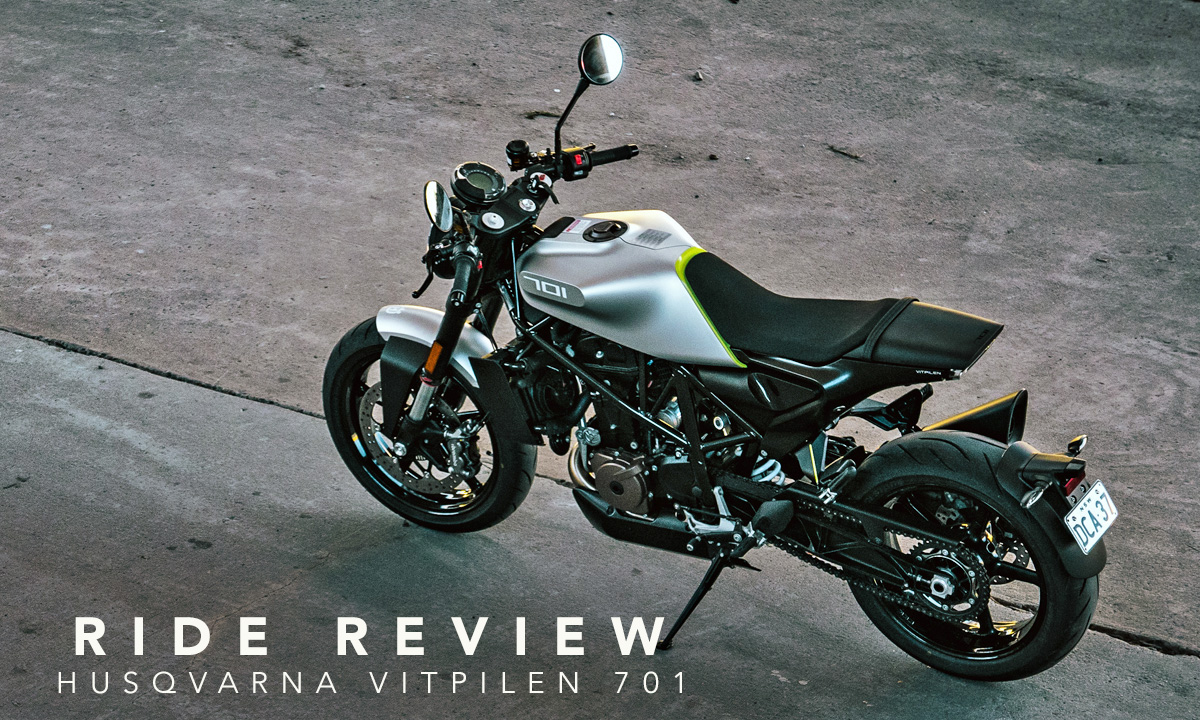 Husqvarna Vitpilen 701 review